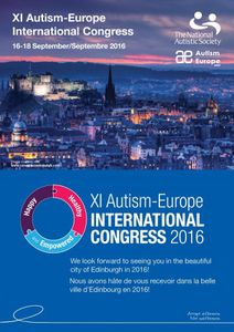 11e Congrès International d'Autisme-Europe - 16-18 septembre 2016