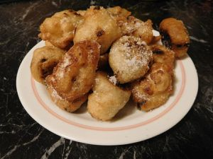 Figues albardaes (beignets de figues)
