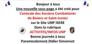 UNP Section Isère