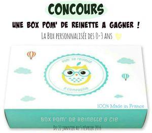 Pom' de Reinette &amp&#x3B; Cie, la nouvelle box pour les tout-petits (+ Concours)