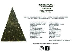 Samedi 12 décembre : Boutique éphémère au Vésinet - Shopping de Noel