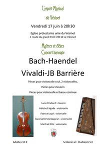 Concert vendredi 17 juin au Vésinet