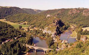 Le méandre du Tarn à Ambialet