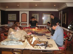 Atelier de confection de costumes
