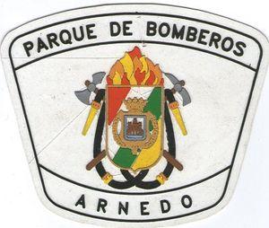 Ecusson des pompiers d' ARNEDO, en Espagne