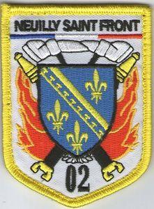 Ecusson des pompiers de NEUILLY SAINT FRONT (Aisne)