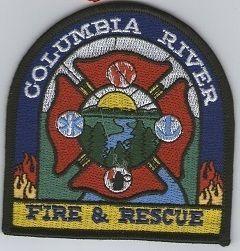 Ecusson des pompiers de COLUMBIA RIVER, USA