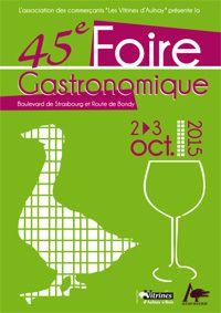Foire gastronomique 2015 à Aulnay-sous-Bois