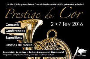 Le cor à l'honneur à Aulnay-sous-Bois !