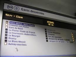 Grosse panne sur le RER B entre gare du nord et Aulnay-sous-Bois ce 4 février 2016 !