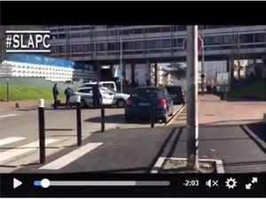 Intervention de la police au Galion à Aulnay-sous-Bois