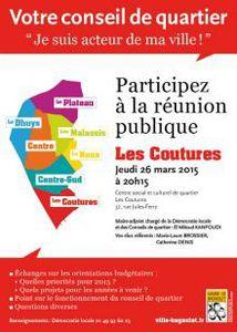 Bagnolet : conseil de quartier des Coutures le 26 mars 2015