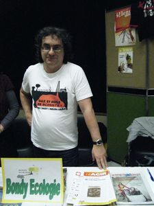 Alain Boucher de Bondy Ecologie en mars 2012