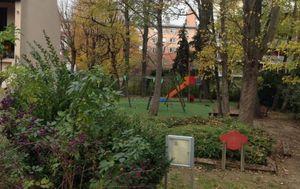 Noisy-le-Sec. Le square François Truffaut fait l'objet d'une mobilisation d'habitants contre la destruction de l'espace vert au projet d'un projet immobilier.(LP/Floriane Louison.)