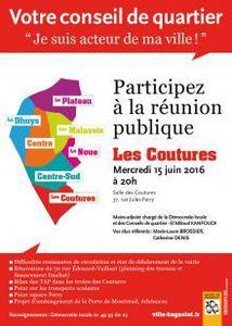 Conseil de quartier aux Coutures ce 15 juin