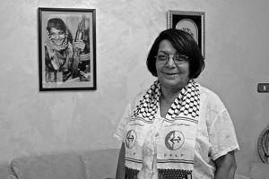 Leïla Khaled, solidaire de Georges Abdallah.