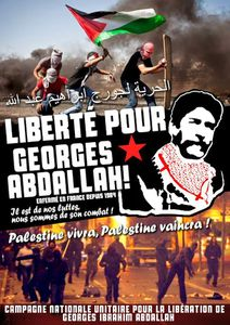 Meeting Georges Abdallah, samedi 19 mars 2016.