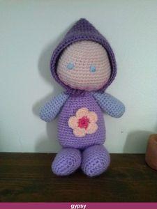 petite poupée au crochet