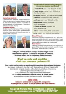Tract de campagne page 2