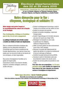 Tract de campagne page 1