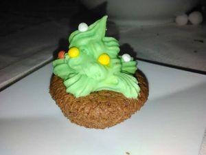 Cupcake de Noël