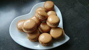 Macaron fourrés au foie gras