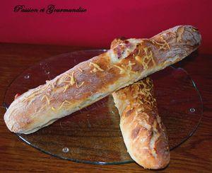 Baguettes Lardons/Gruyère