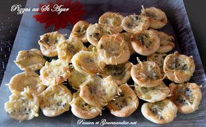 Mini Pizzas au St Agur