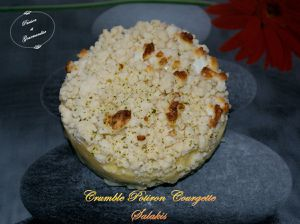 Crumble Potiron Courgette Salakis