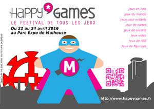 Happy'Games 2016, on y sera ! Mais en attendant ...