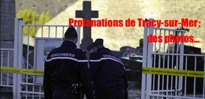 Cimetière de Tracy-sur-Mer : des images…