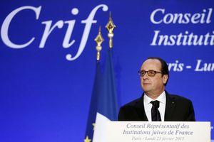 Au CRIF, ce 23 février, Hollande nous a déclaré la guerre !