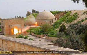 L'Etat Islamique fait sauter le monastère catholique des Saints Behnam et Sarah près de Mossoul (IVe siècle)