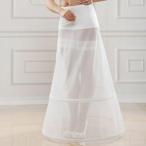 Jupon sirène, jupon avec traîne ou encore jupon à cerceaux à chaque robe de mariée son jupon!