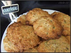 Cookies pistache et chocolat blanc
