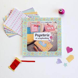 Mon coffret papeterie pour les kids Editions Marie Claire