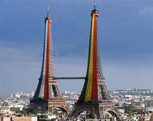 C'est gros comme une tour Eiffel !