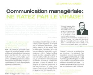 Communication managériale : ne manquez pas le virage !