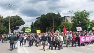 Albanie: grève aux chemins de fer et dans les raffineries. France/Albanie: solidarité de lutte!