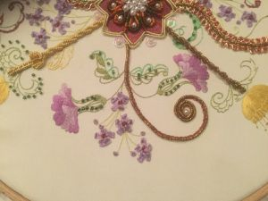 BRODERIE D'OR fini