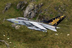 Panavia Tornado GR4 - 100 years 31 sqn &quot&#x3B;Goldstars&quot&#x3B;