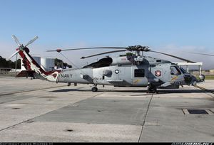 Sikorsky MH-60R &quot&#x3B;Seahawk&quot&#x3B; - HSM 40 &quot&#x3B;Airwolves&quot&#x3B; - CAG bird &quot&#x3B;007&quot&#x3B; James Bond logo