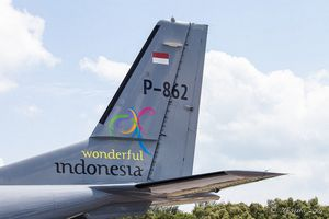 CASA CN235-220-AMCOS - Skwadron Udara 800 - special marking &quot&#x3B;Wonderful Indonesian&quot&#x3B;