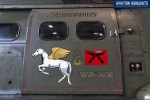 Westland HC.2 &quot&#x3B;Puma&quot&#x3B; - 28 squadron - 100 years