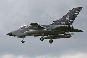 Panavia &quot&#x3B;Tornado&quot&#x3B; GR.4 - 31 squadron &quot&#x3B;Goldstars&quot&#x3B; - RAF Marham centenary