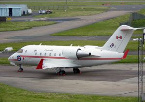 Bombardier CC-144A (CL-600S) &quot&#x3B;Challenger&quot&#x3B; - 8 Wing - 412 sqn - 75th anniversary