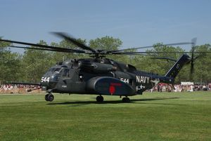 Sikorsky MH-53E &quot&#x3B;Sea Dragon&quot&#x3B; - HM-14 - Special marking &quot&#x3B;Go Navy - Beat Army&quot&#x3B;