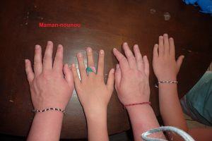 Bracelets brésiliens et bague