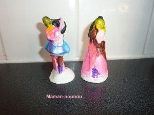 Princesses en plâtre de Mako Moulages