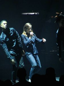 Christine And The Queens au Cirque Royal, Bruxelles, le 17 mars 2015